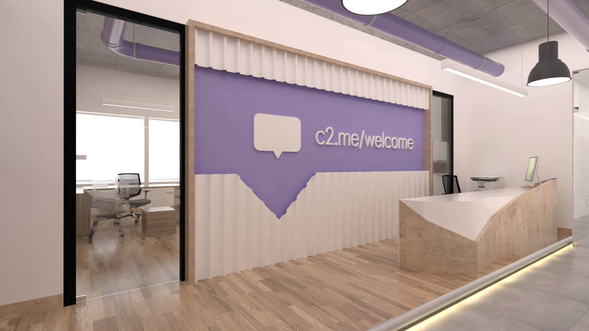 office design 2355 Connected2.me Office Offices