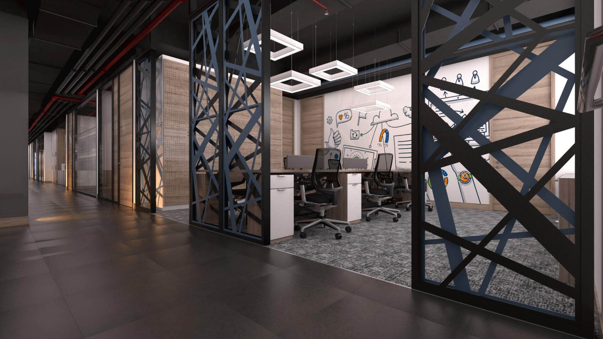 office project  2368 CBKSoft Offices