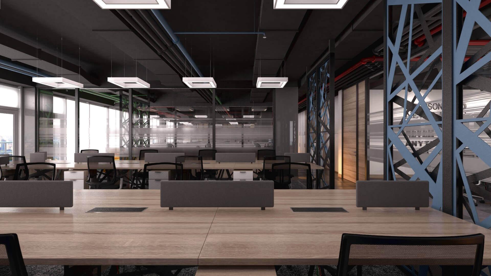 office design 2412 CBKSoft Offices