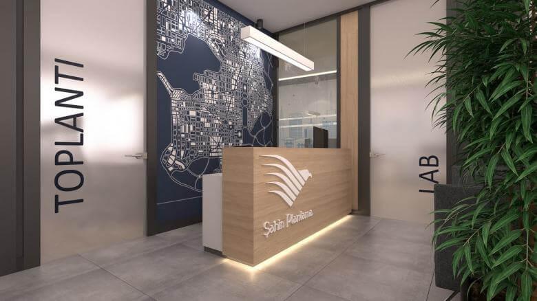 office design 2415 Sahin Planlama Office Offices