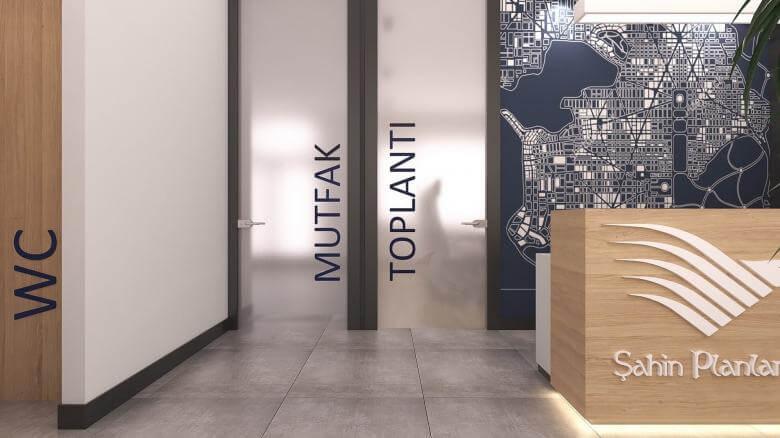 office design 2416 Sahin Planlama Office Offices