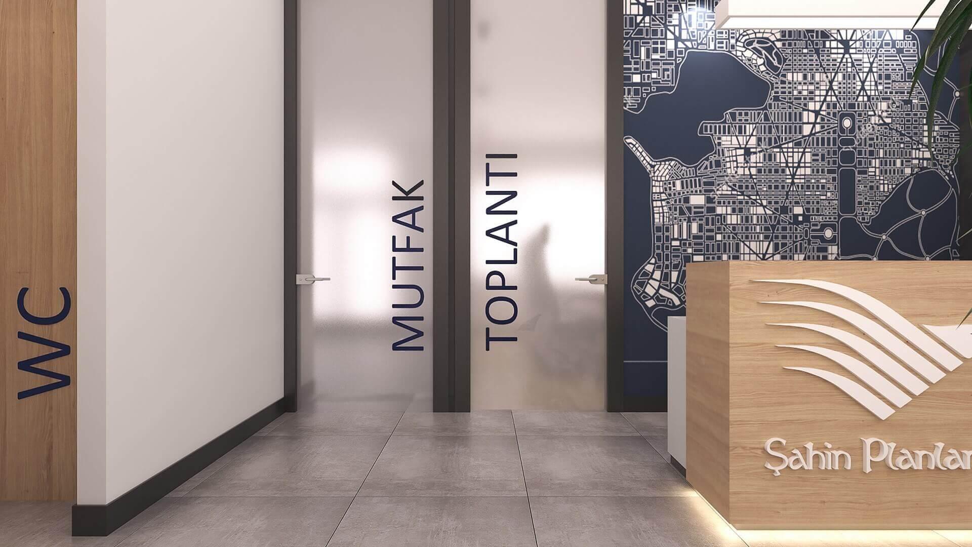 office project  2416 Sahin Planlama Office Offices