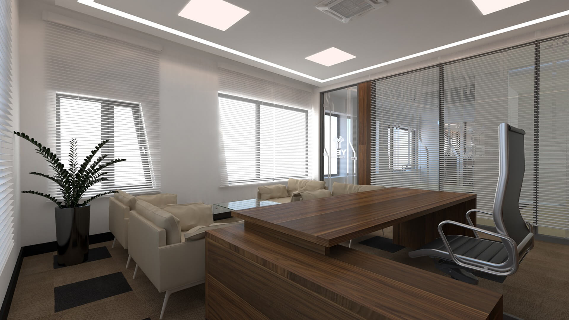 Gisas Office, Offices
