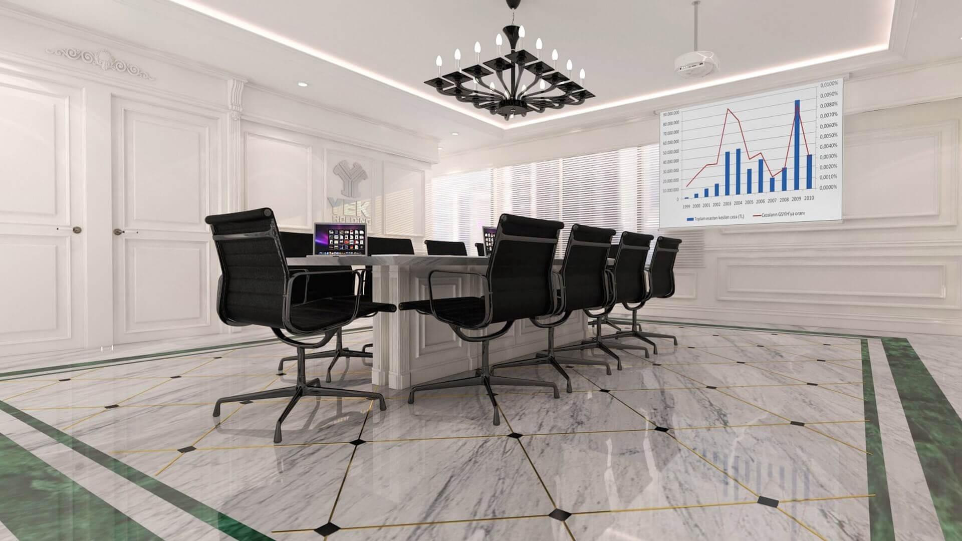 office design 2460 YEK Petrokimya Offices