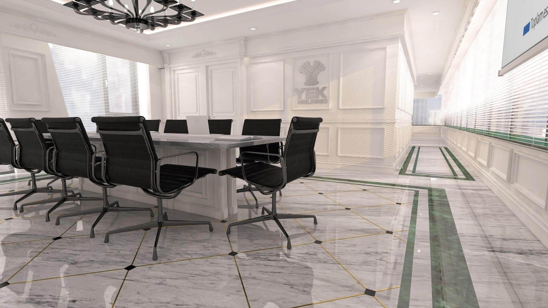 Secretary 2461 YEK Petrokimya Offices