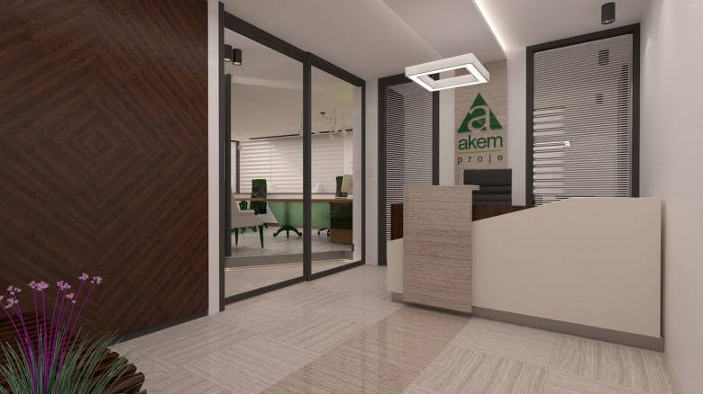 office design 2481 Akem Real Estate Office Offices