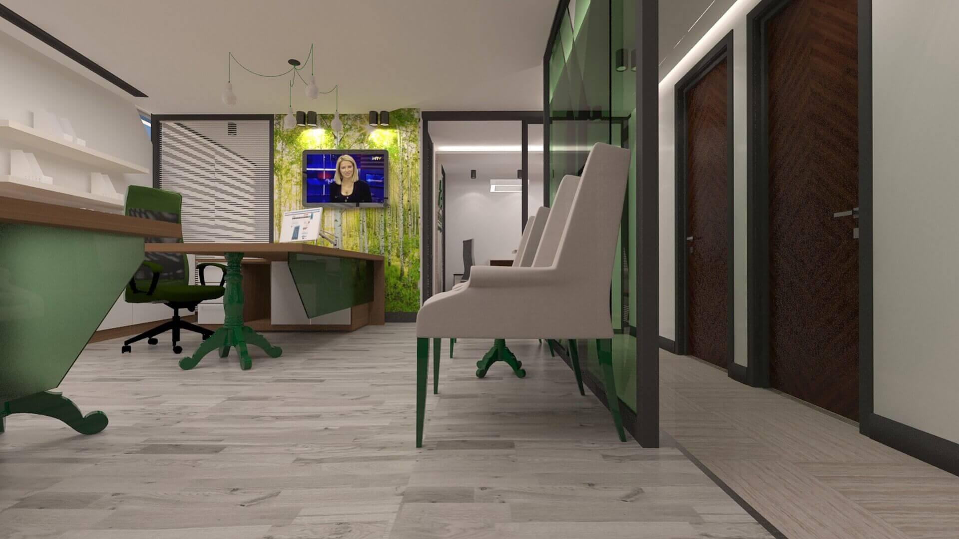office design 2487 Akem Real Estate Office Offices