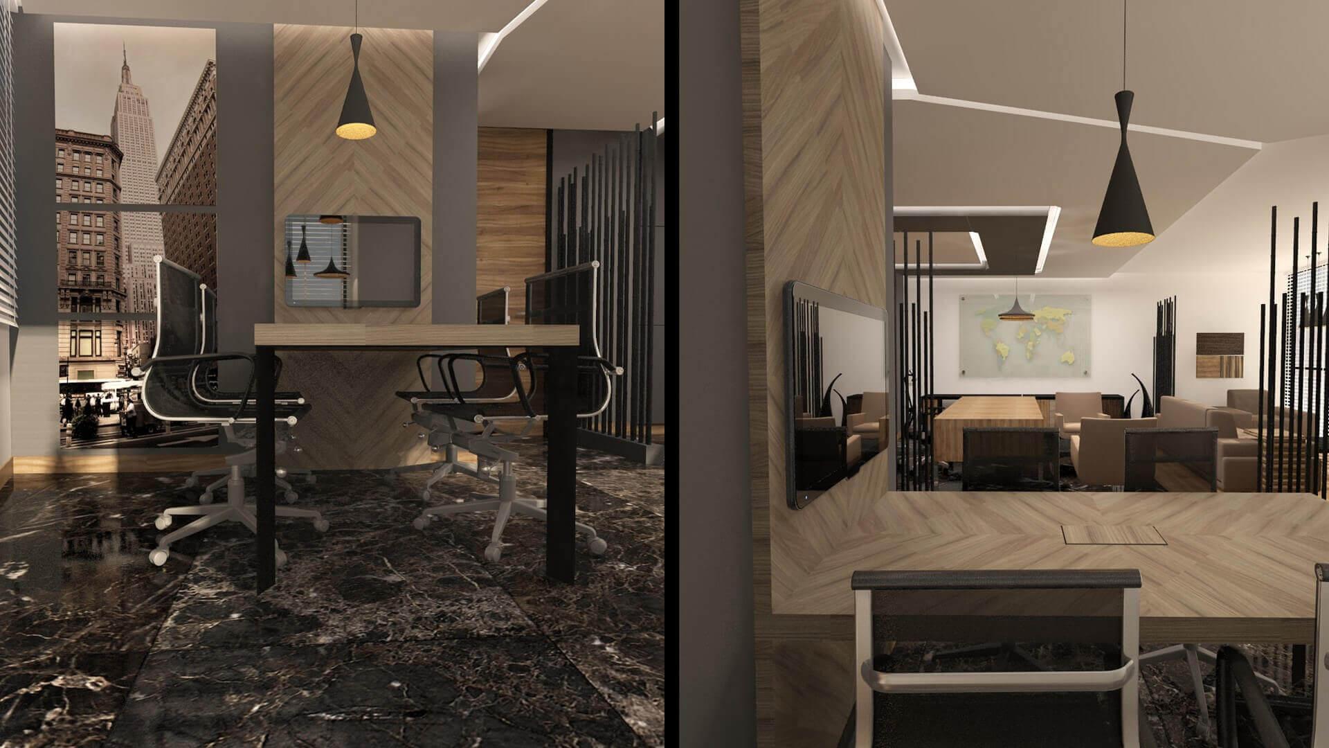 office design 2499 Akem Real Estate Office Offices