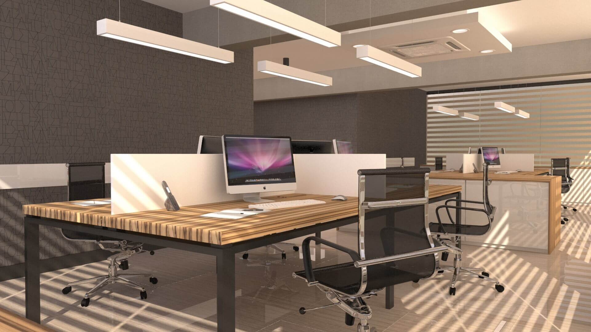 office design 2553 A. Telecom Office Offices