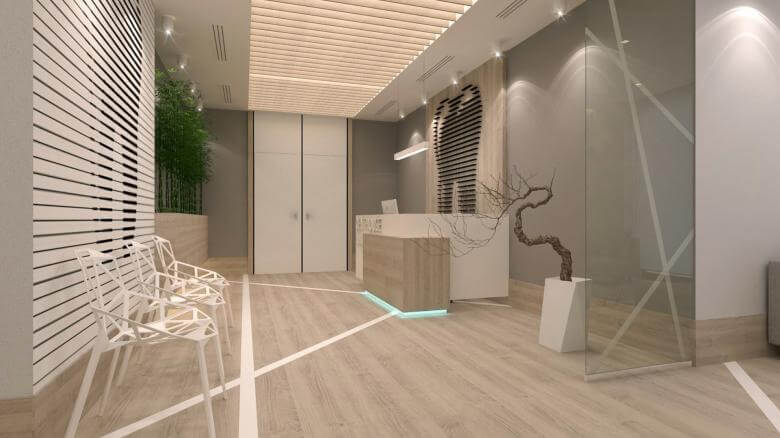 office design 2566 Denthouse - Dental clinic Offices