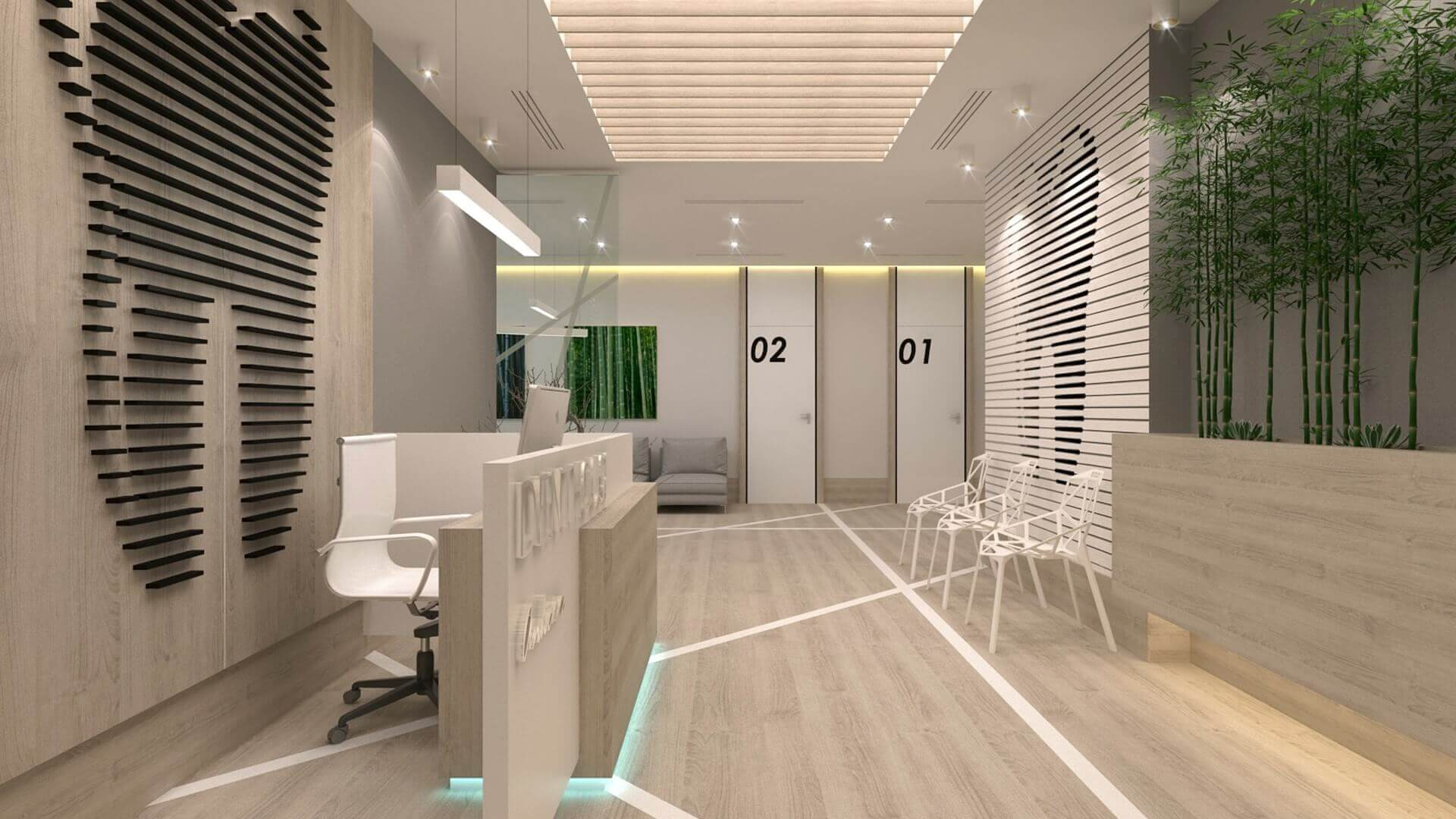 office design 2568 Denthouse - Dental clinic Offices