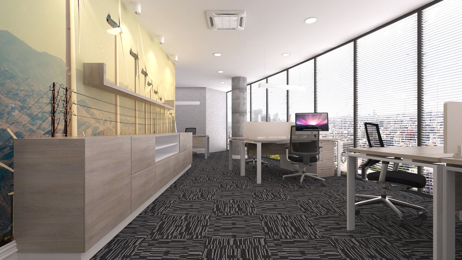 DSR Energy, Offices