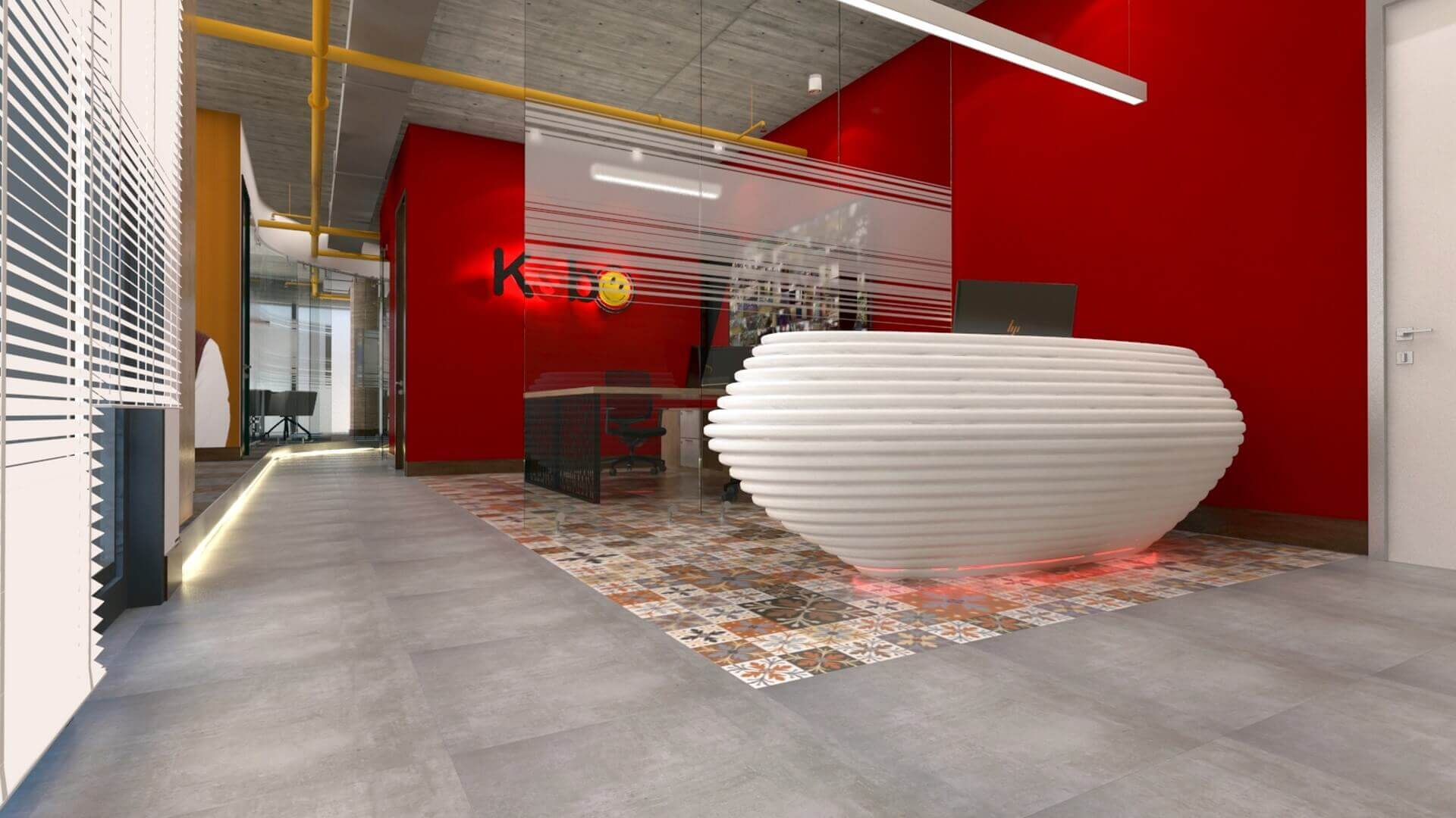 Ankara office design 2601 Kebo Office Offices