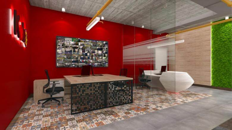 office design 2602 Kebo Office Offices