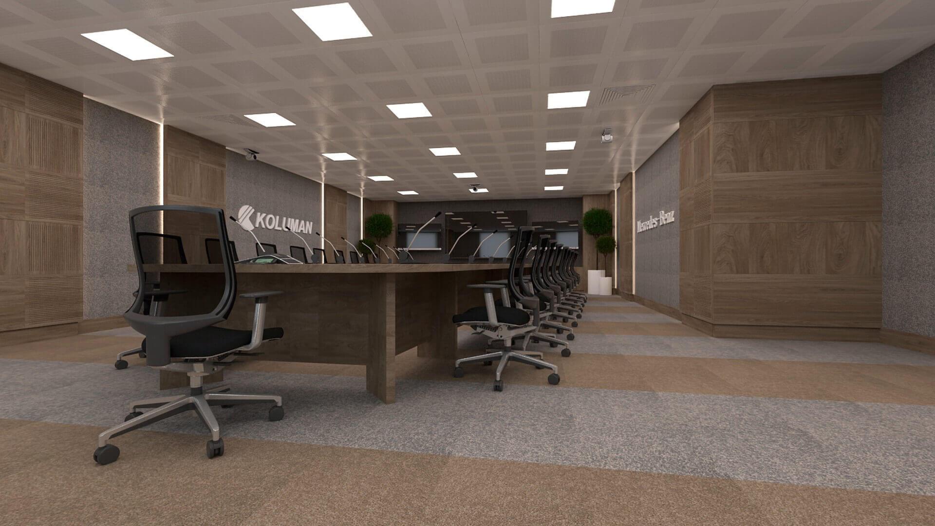 office design 2616 Koluman Ankara Offices