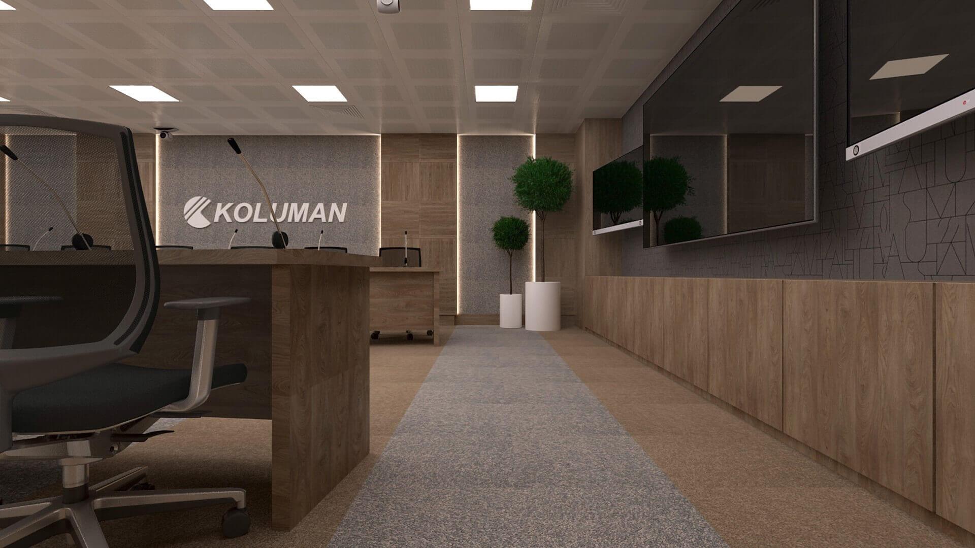 2618 Koluman Ankara Offices