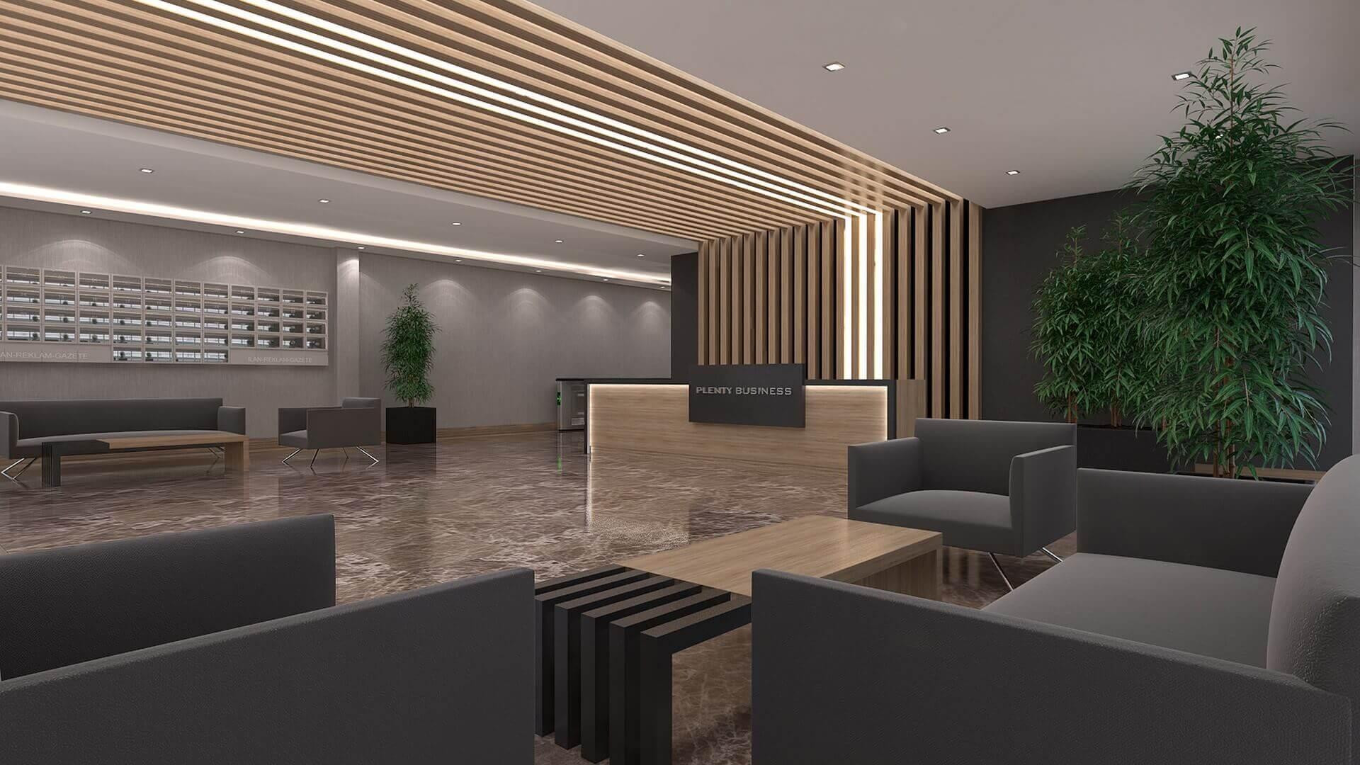 Ankara office architect 2661 Plenty Business Offices