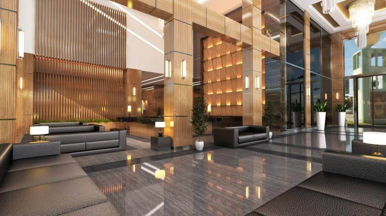 office design 2707 Yelken Business Tower Entrance Offices