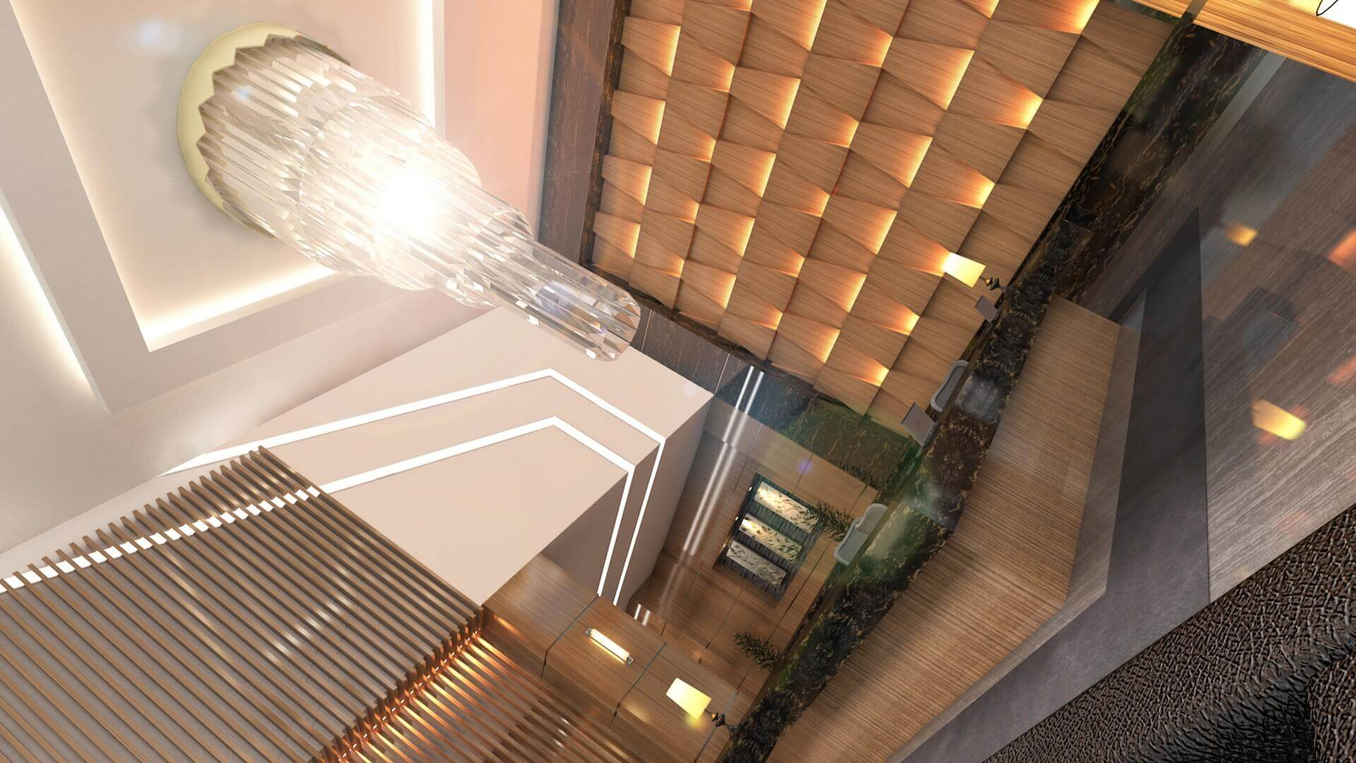 office design 2712 Yelken Business Tower Entrance Offices