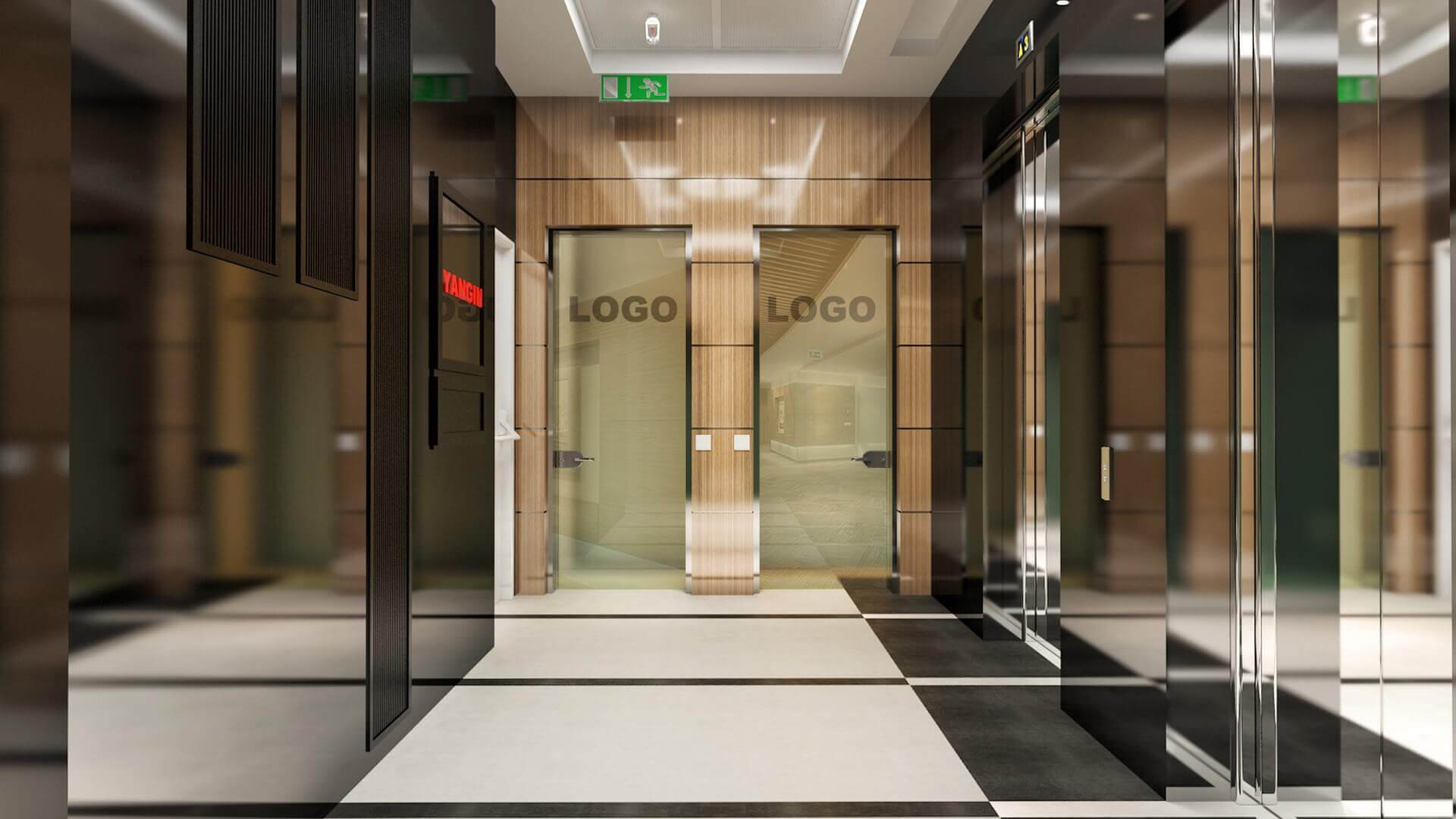 2714 Yelken Business Tower Entrance Offices