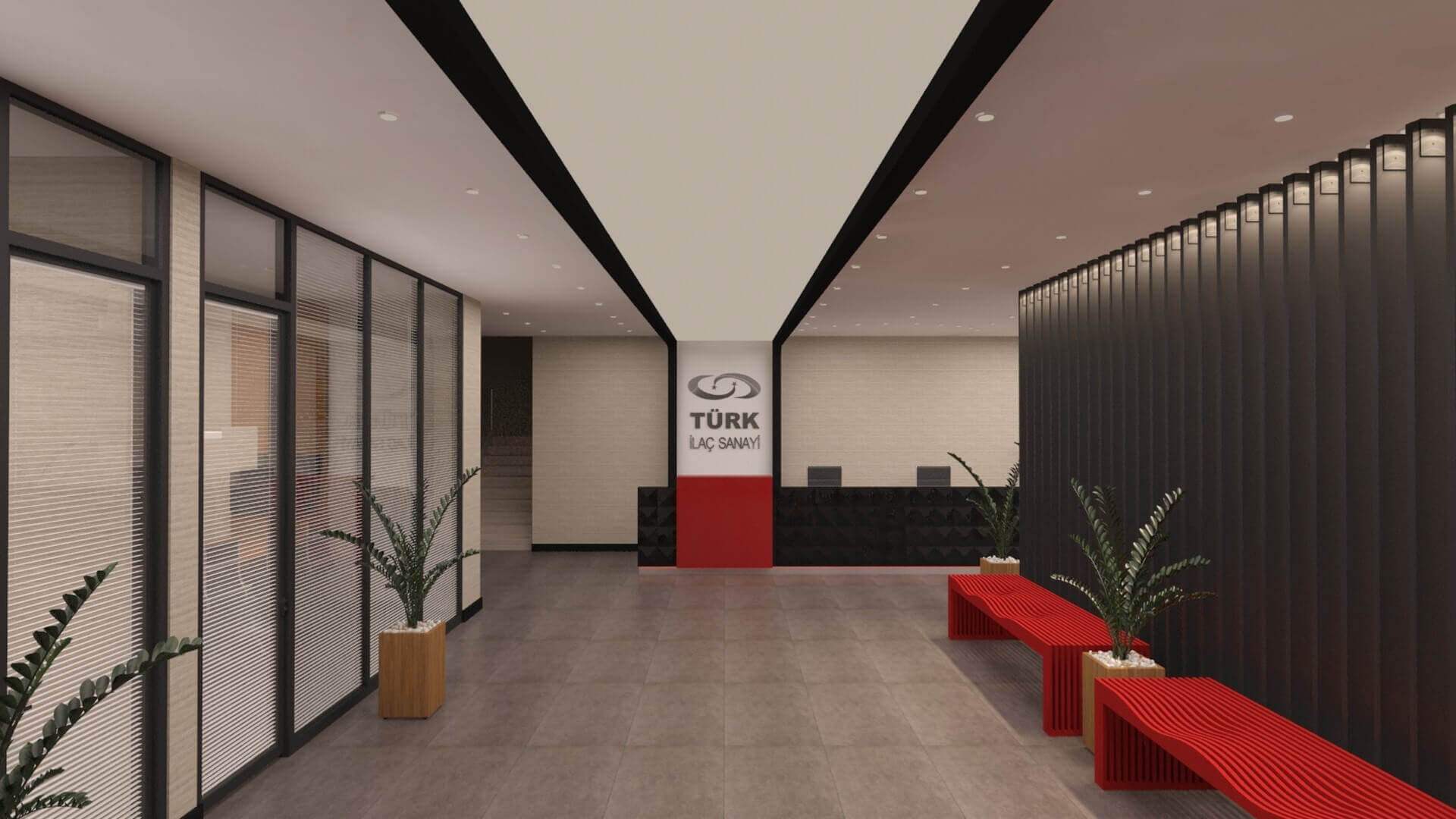 office design 2724 Turk Ilac Office Building Offices
