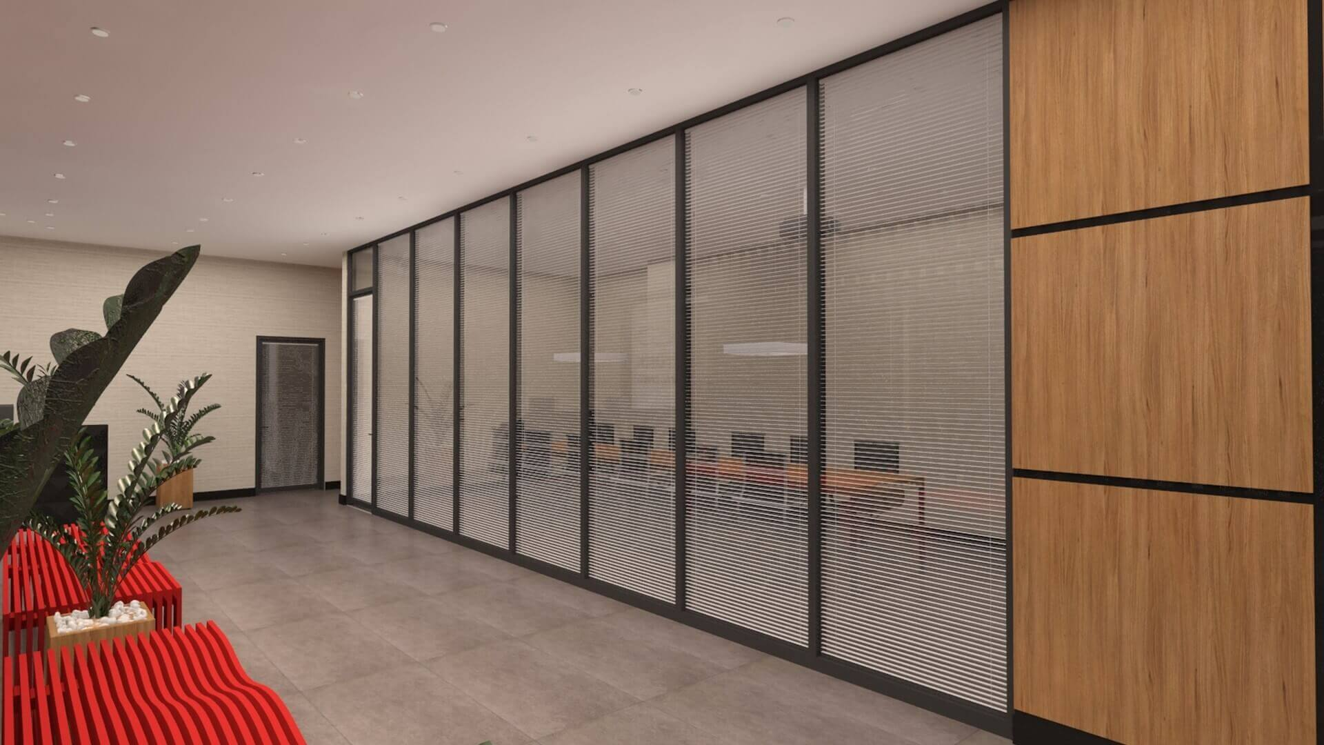 office design 2727 Turk Ilac Office Building Offices