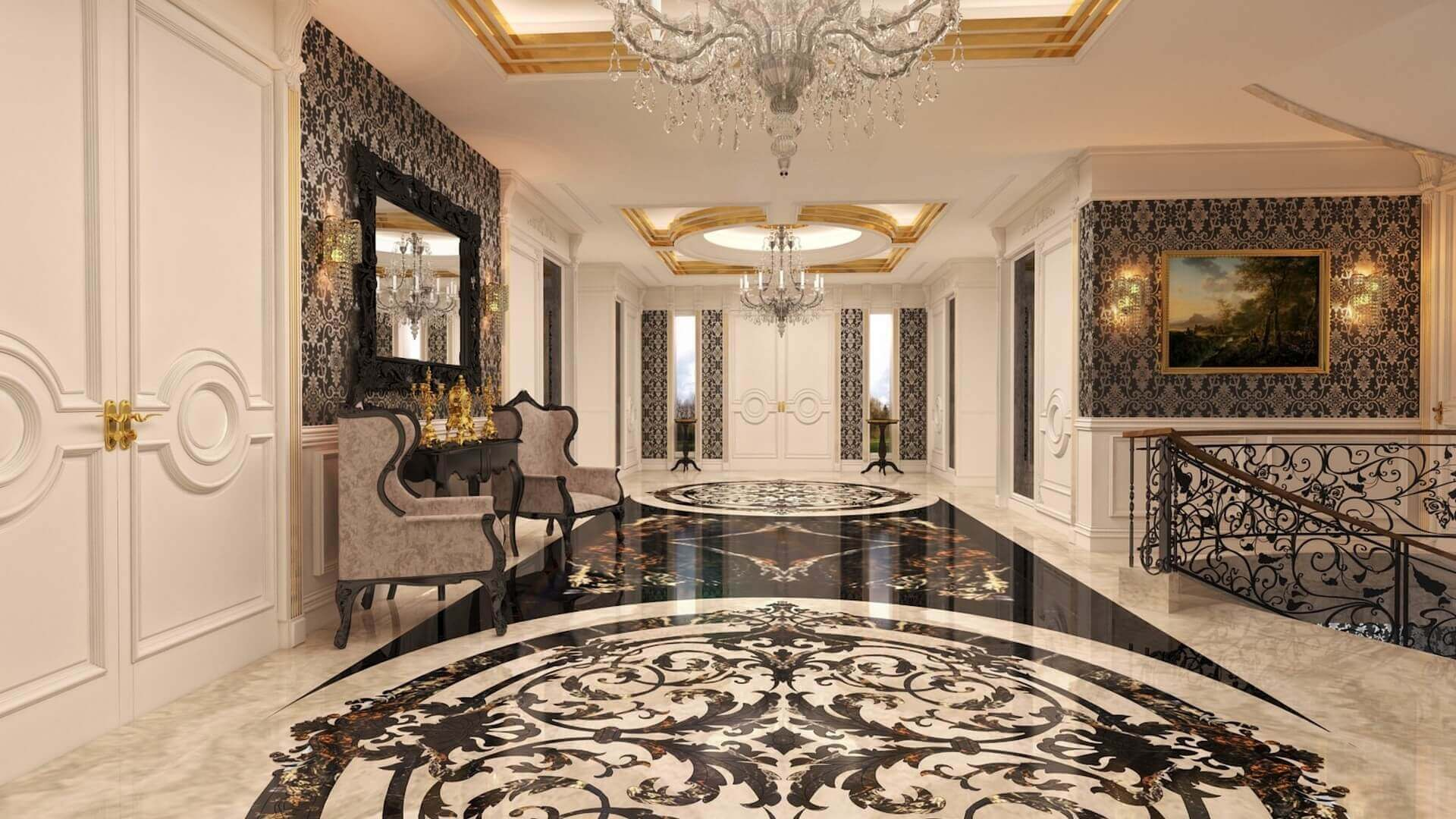 flat decoration 2735 Private Project Residential