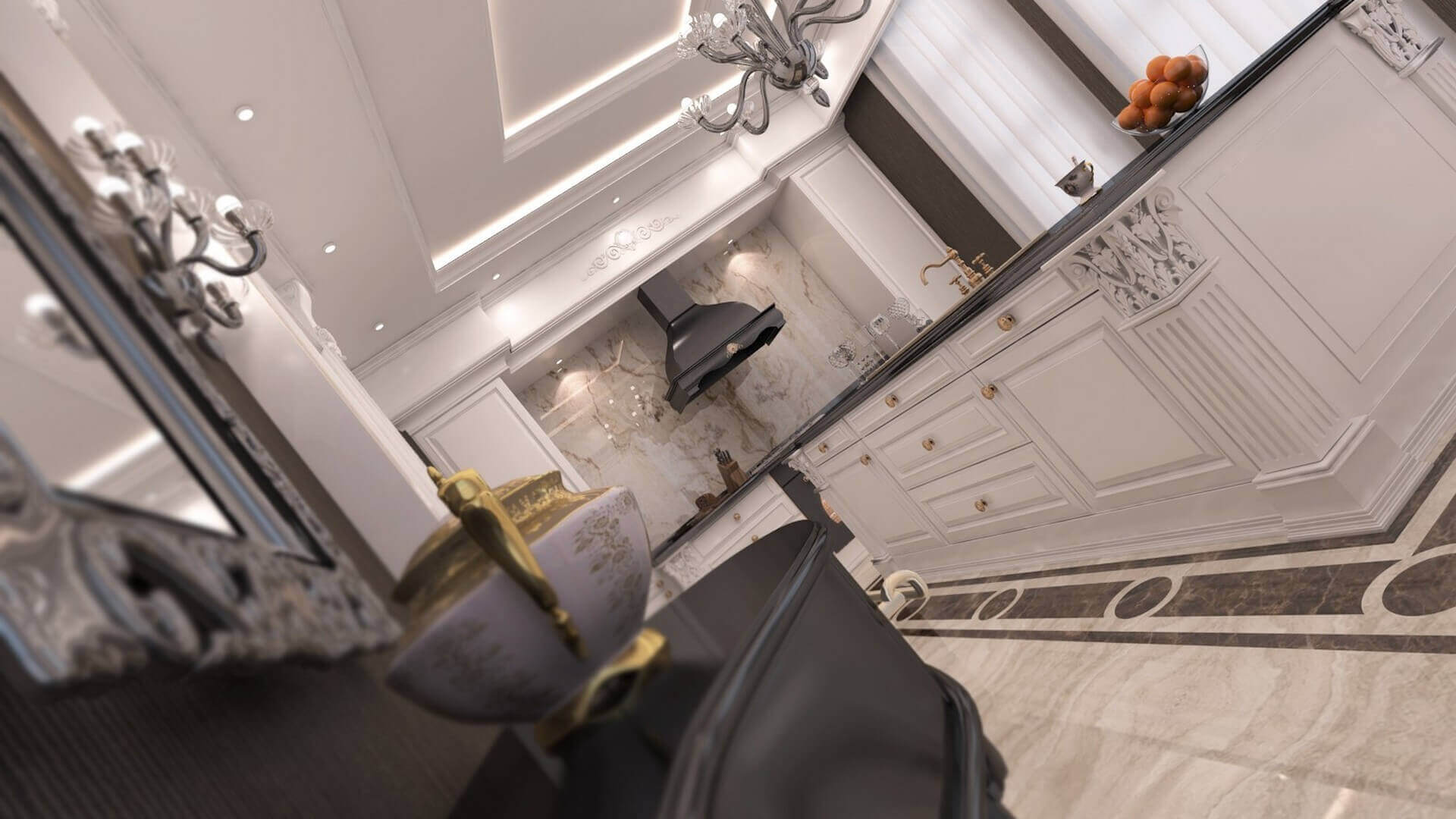 flat decoration 2740 Private Project Residential