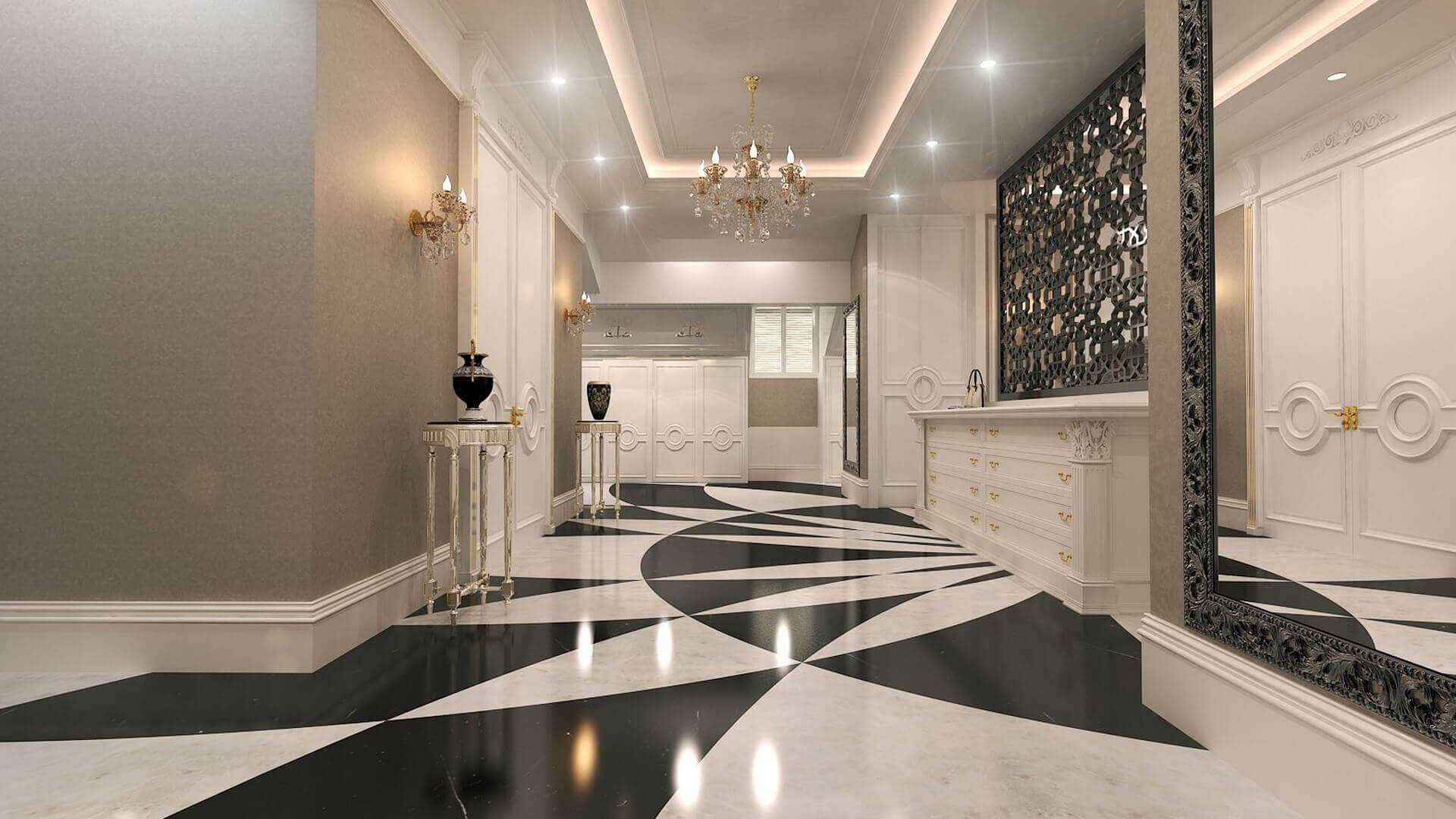 flat decoration 2770 Private Project Residential
