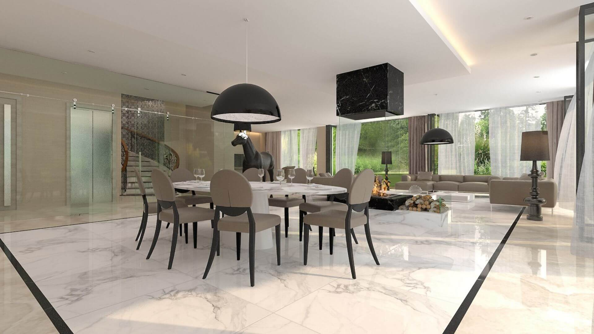 flat decoration 2795 Private Project Residential