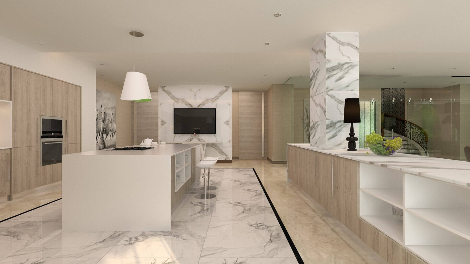 flat decoration 2815 Private Project Residential