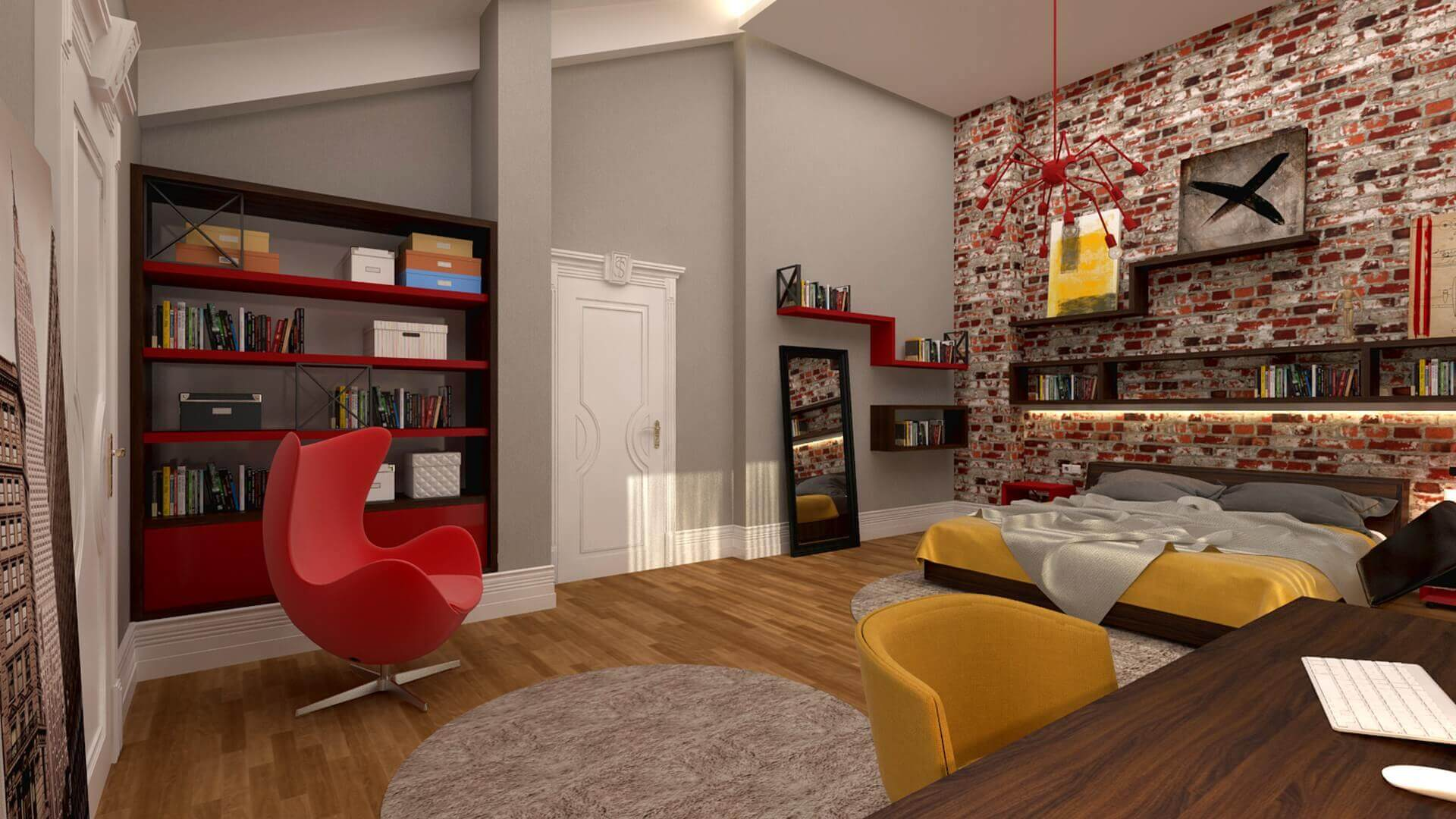 Ankara house projects 2881 Private Project Residential