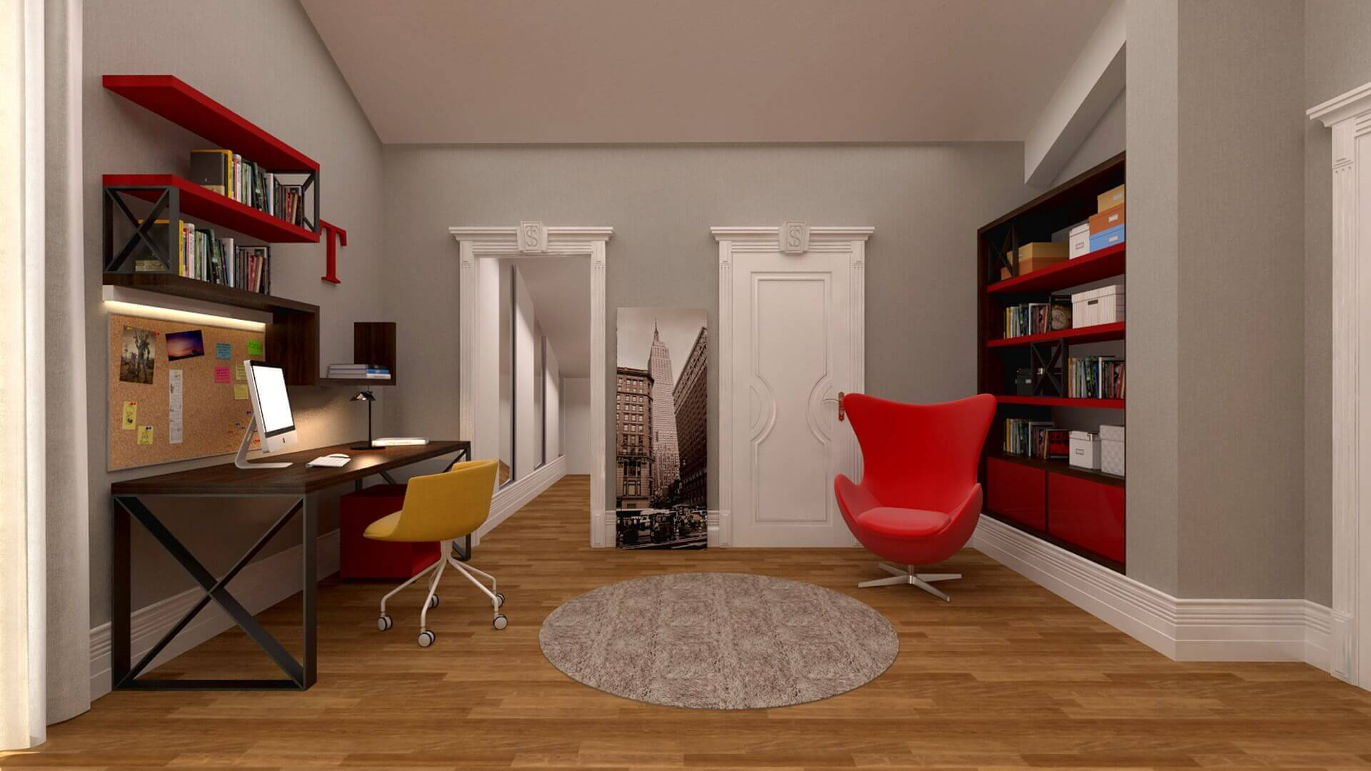 flat decoration 2885 Private Project Residential