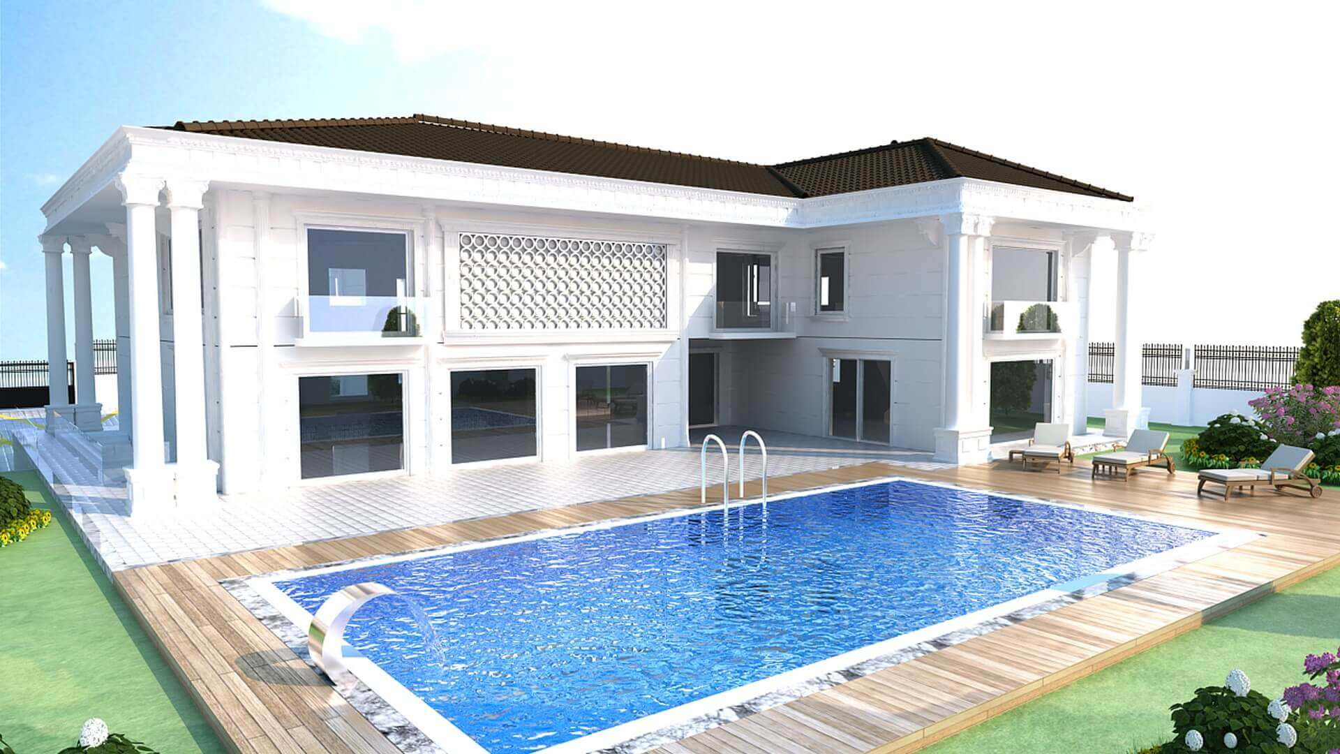 Home design 2891 C. Balta House Residential