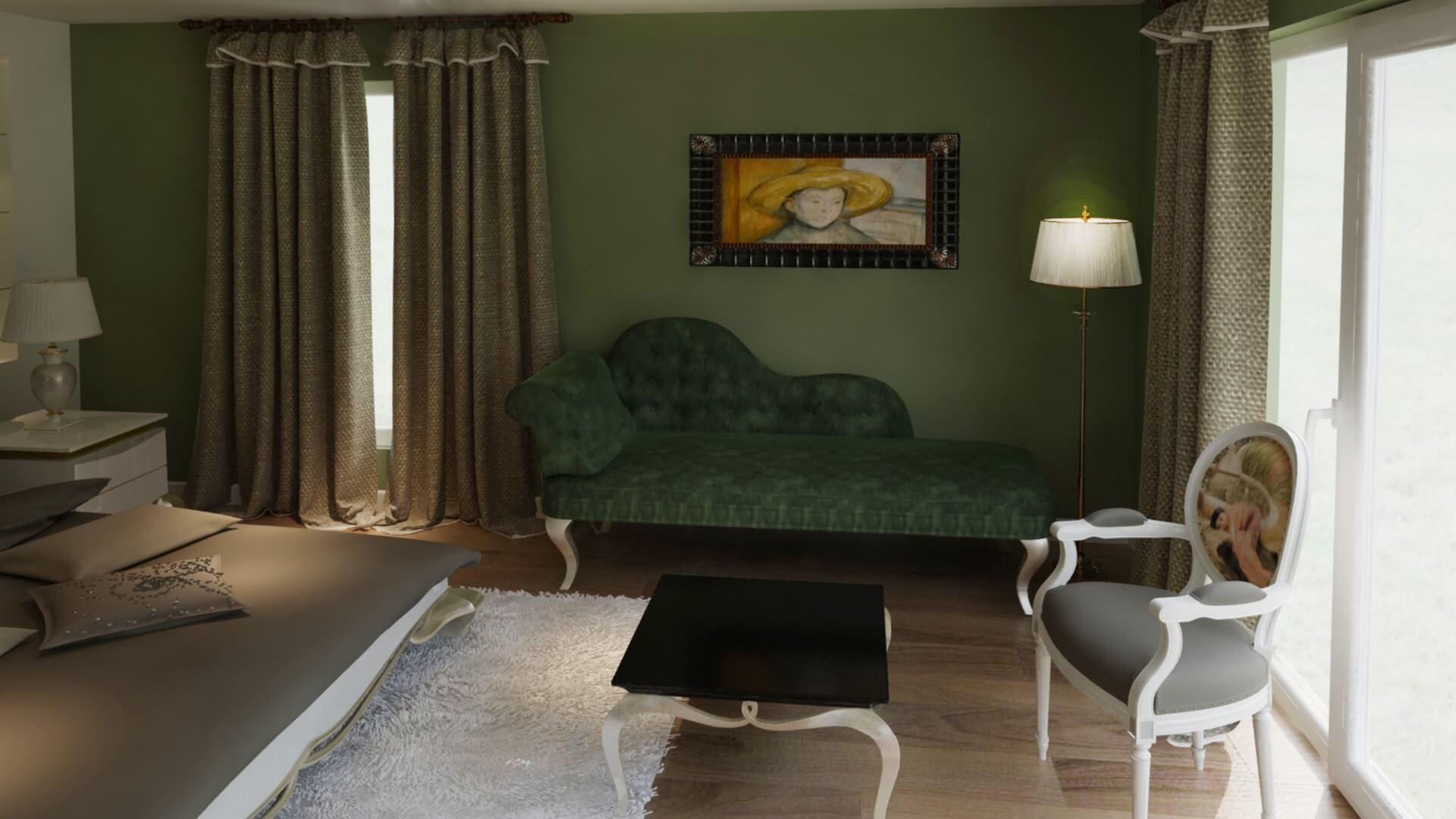 C. Balta House, Residential