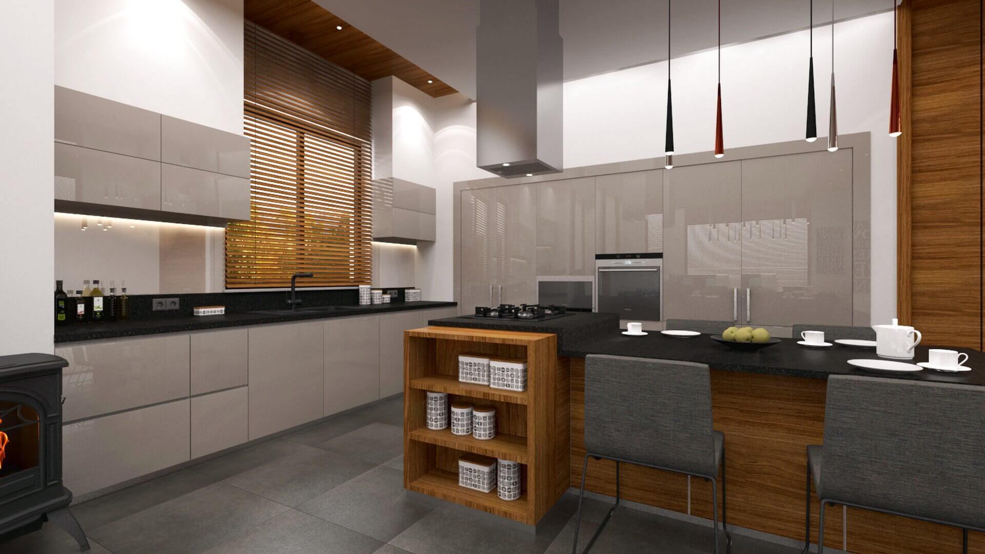 home inspiration 2946 E. Uslu Konutu Residential