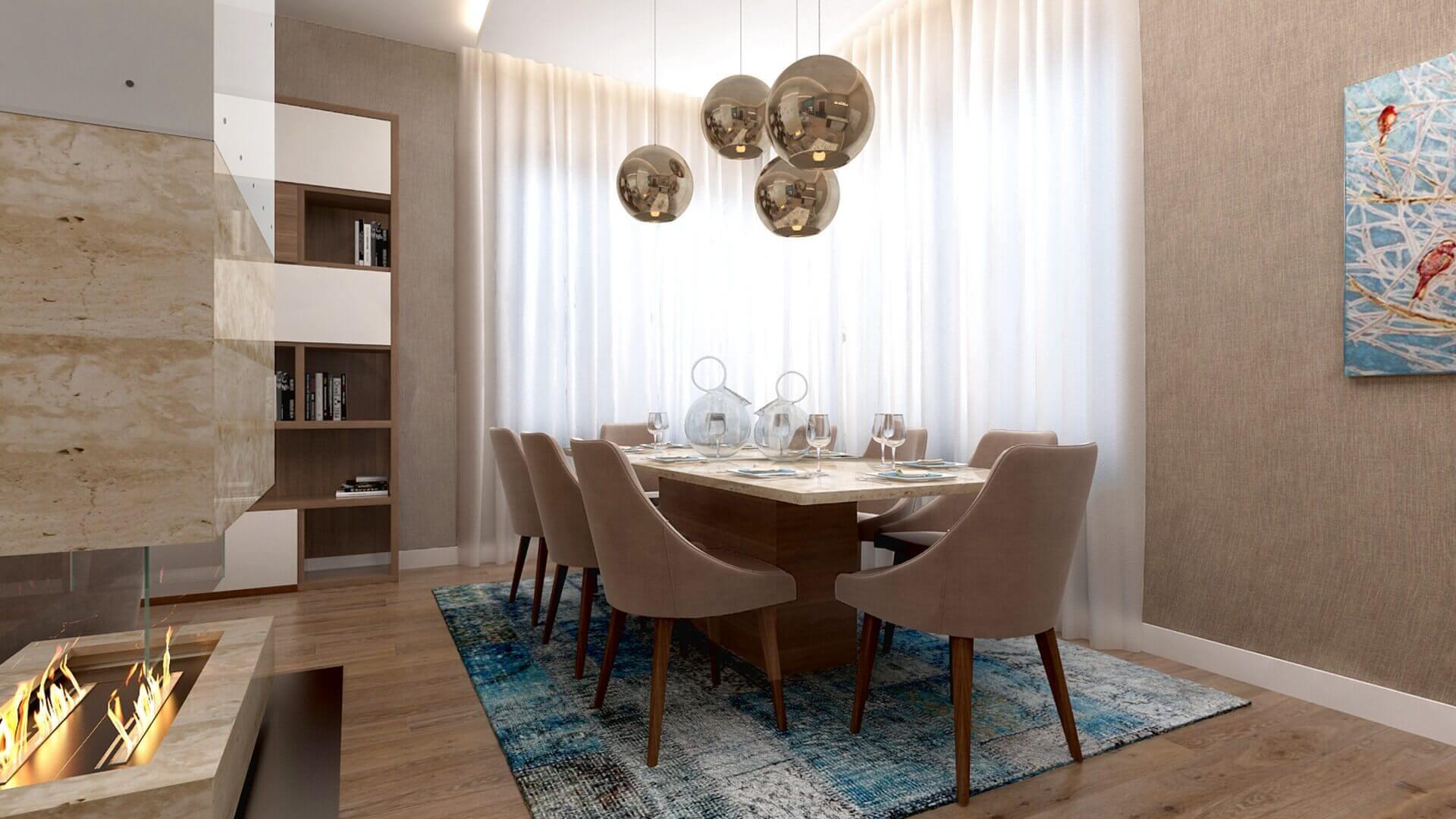 home inspiration 2949 E. Uslu Konutu Residential