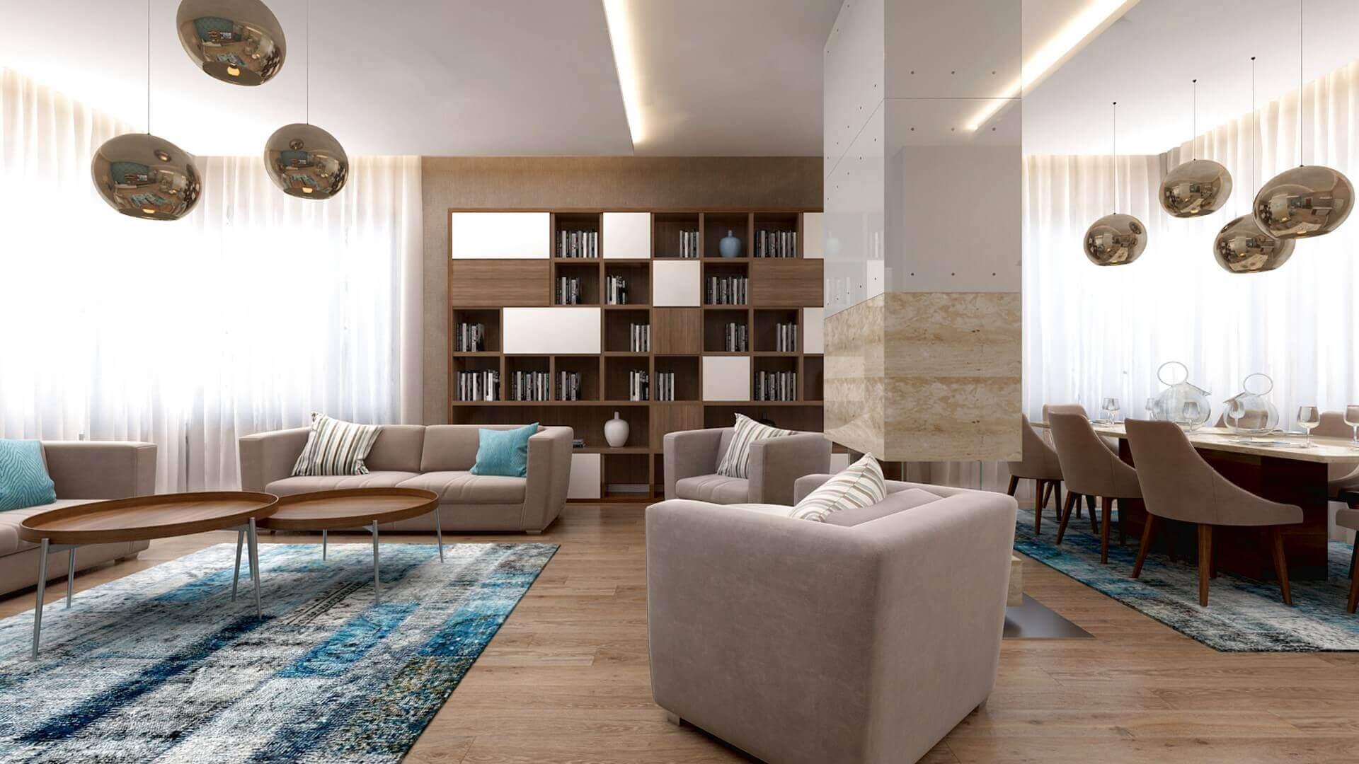 House interior architecture 2951 E. Uslu Konutu Residential