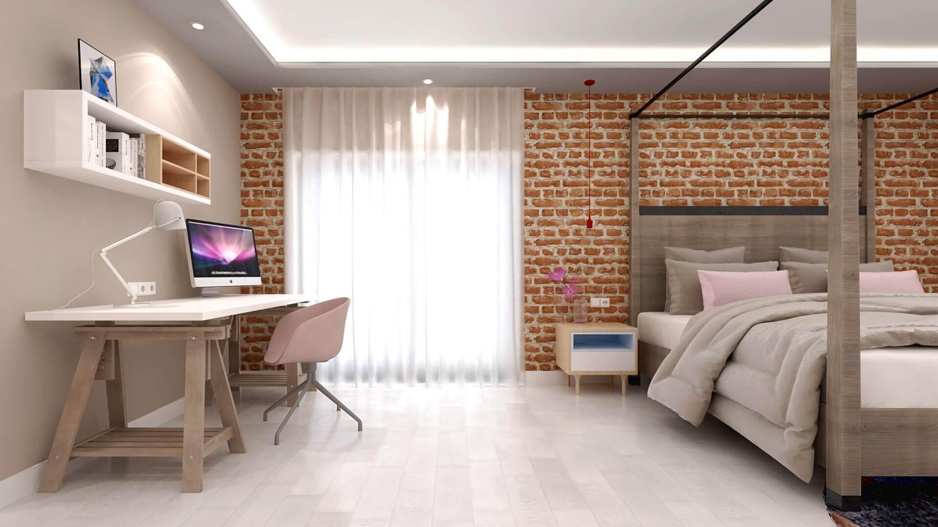 flat decoration 2975 E. Uslu Konutu Residential