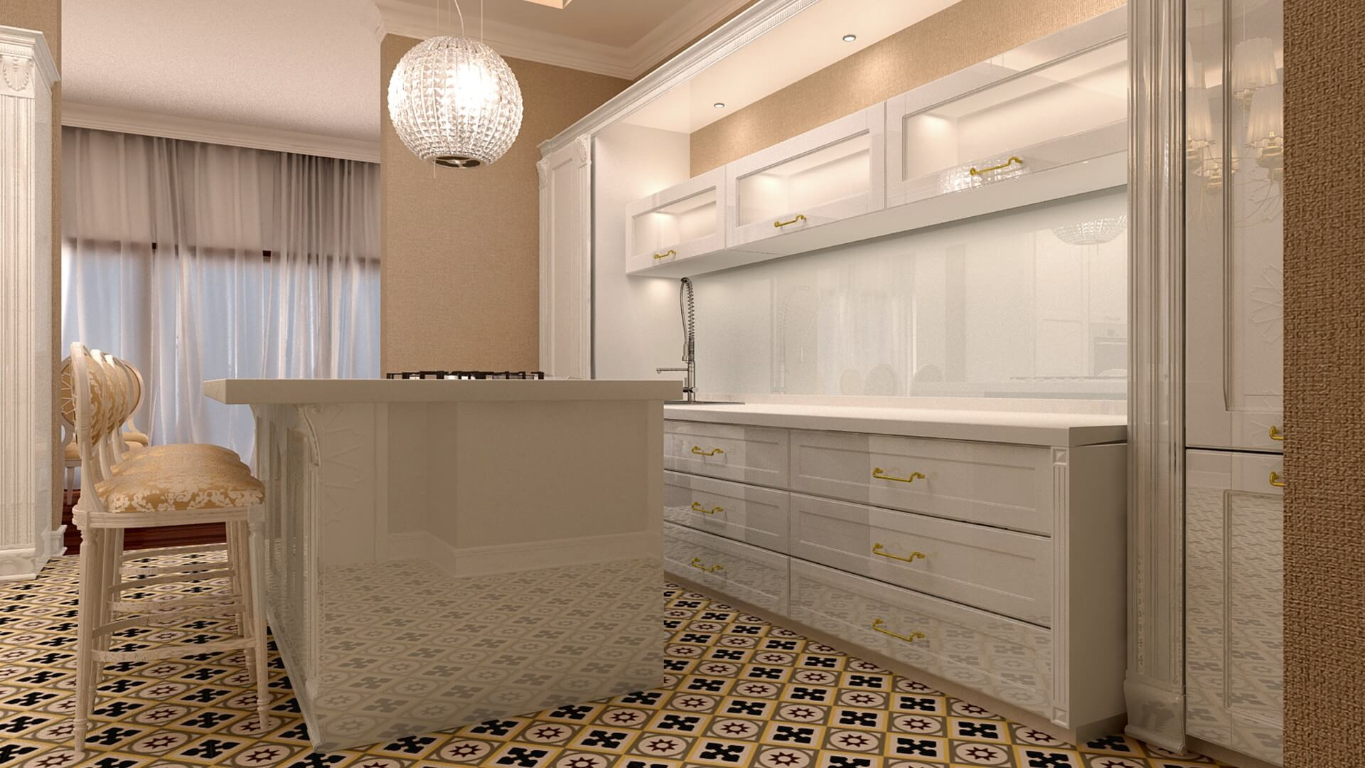 Oran Residence, Residential