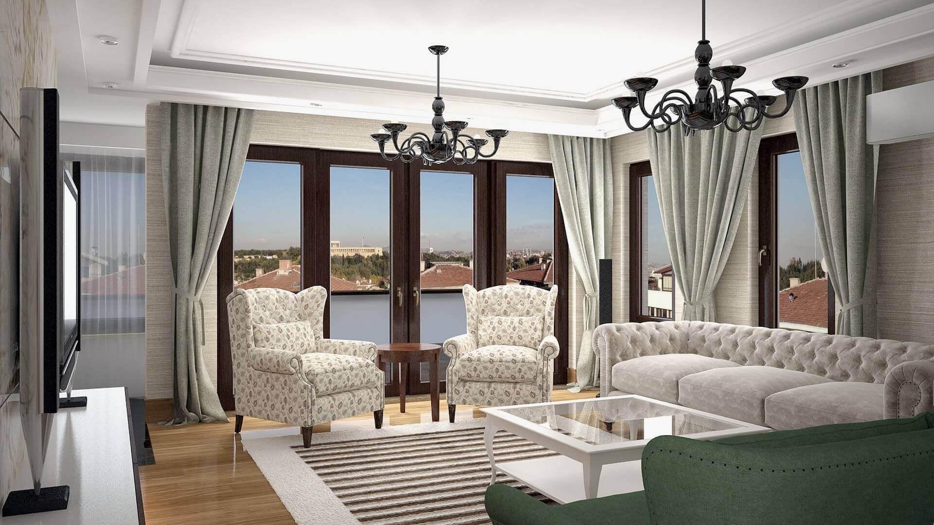 home inspiration 3048 C. Tombuloglu Flat Residential