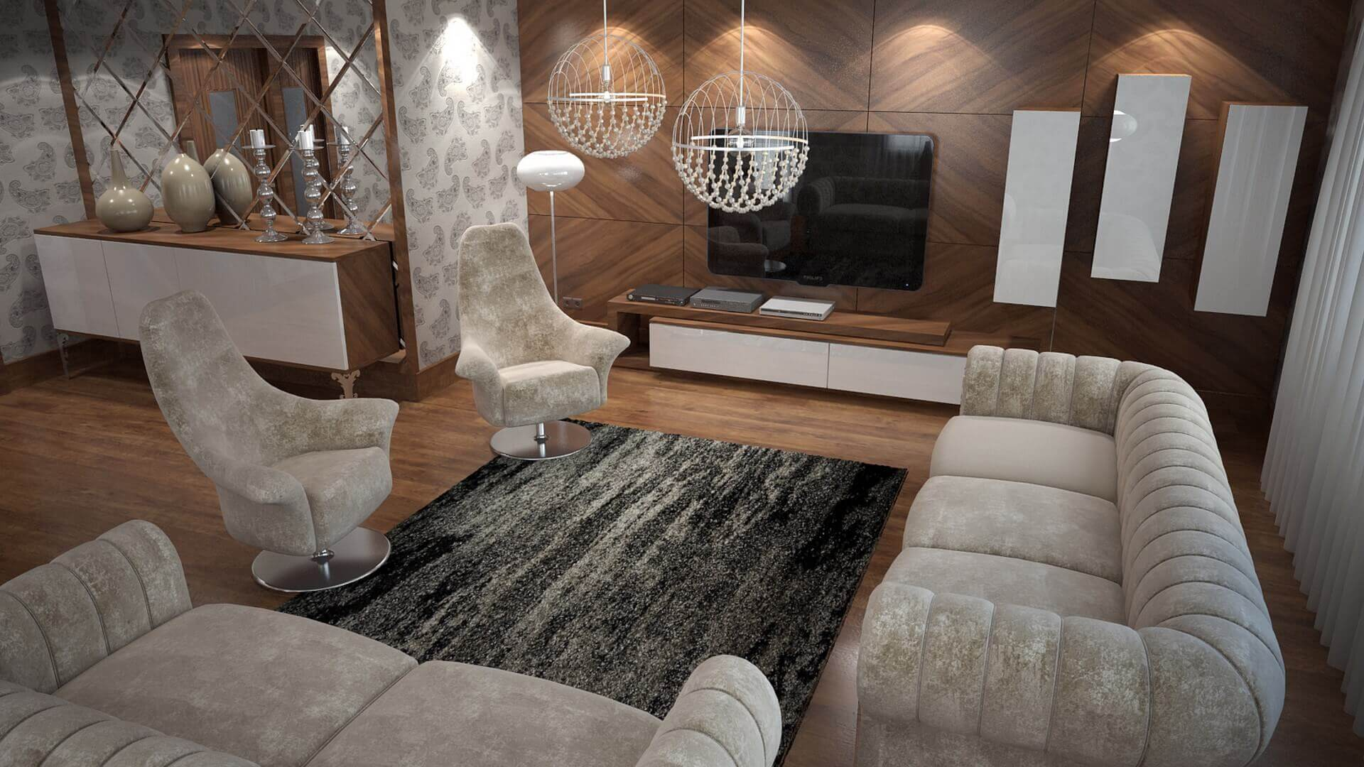 home decoration 3056 C. Tombuloglu Flat Residential