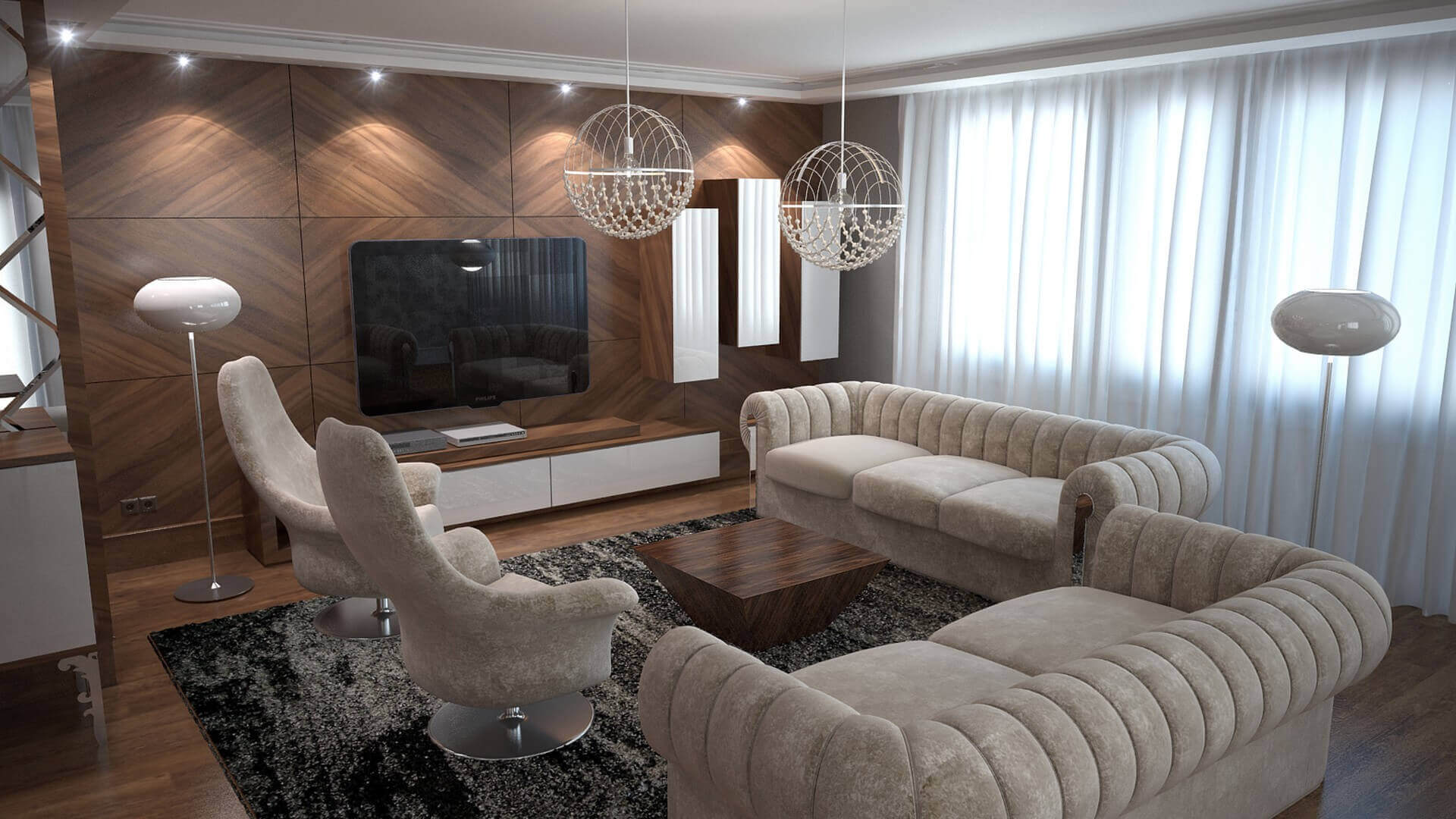 home inspiration 3057 C. Tombuloglu Flat Residential