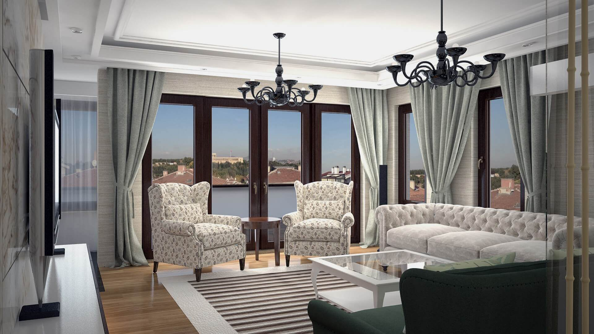 home decoration 3064 C. Tombuloglu Flat Residential