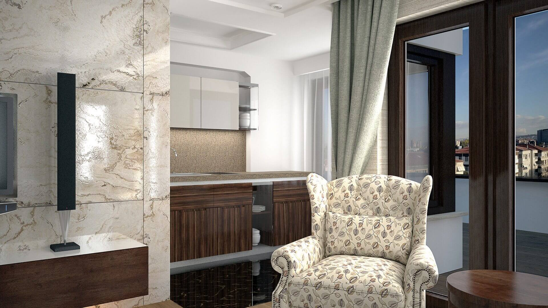 home inspiration 3066 C. Tombuloglu Flat Residential