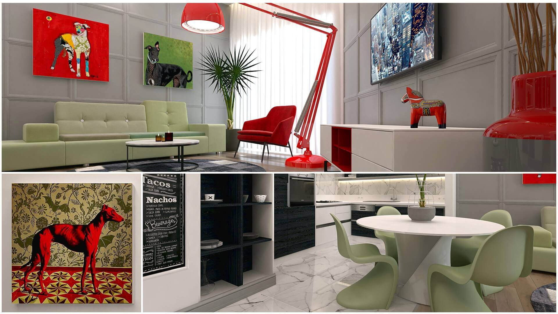 home decoration 3080 L. Tanal Flat Residential