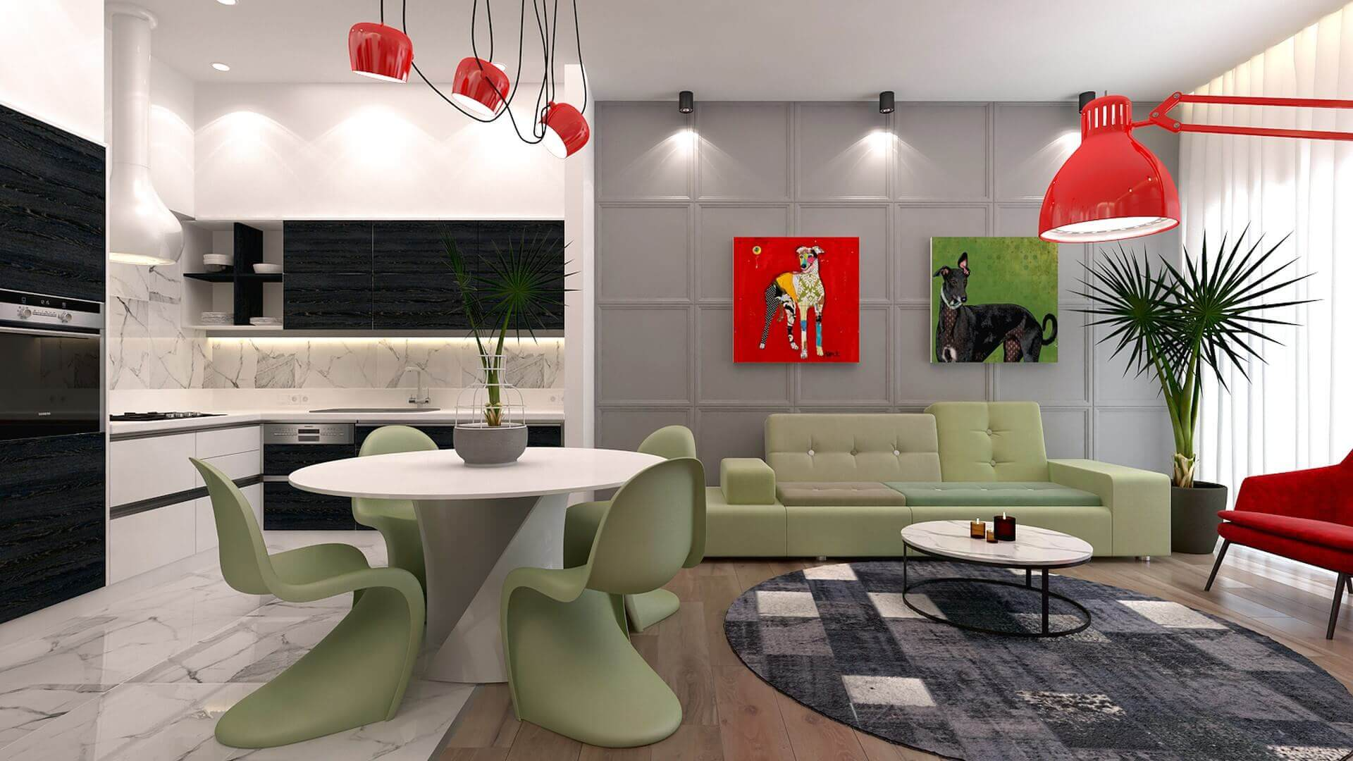 home inspiration 3084 L. Tanal Flat Residential