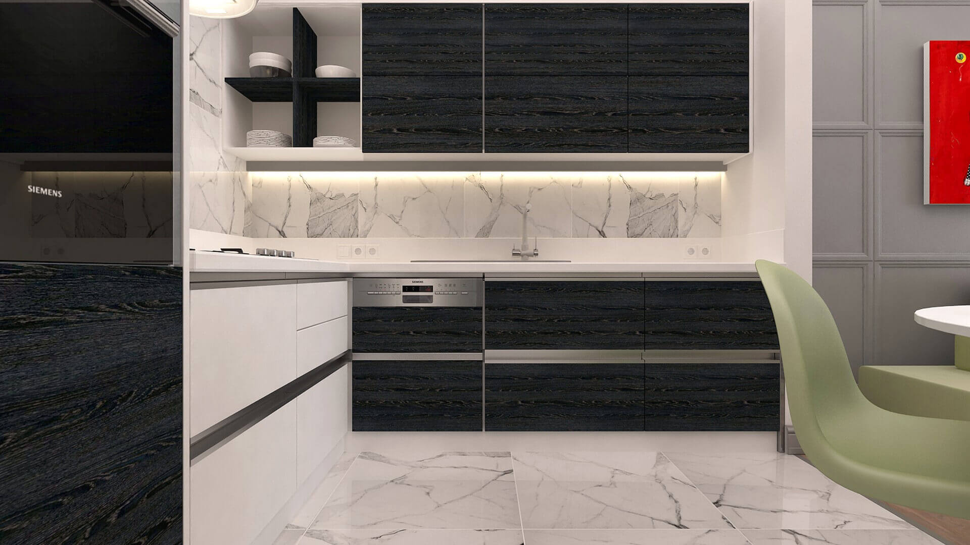 home decoration 3088 L. Tanal Flat Residential