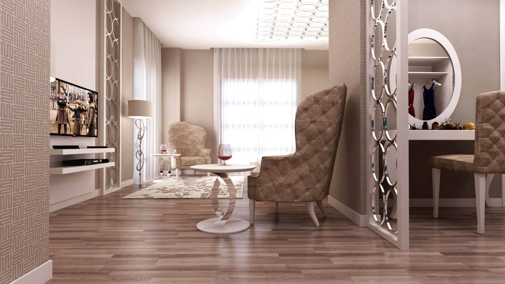 flat decoration 3110 SA House Residential