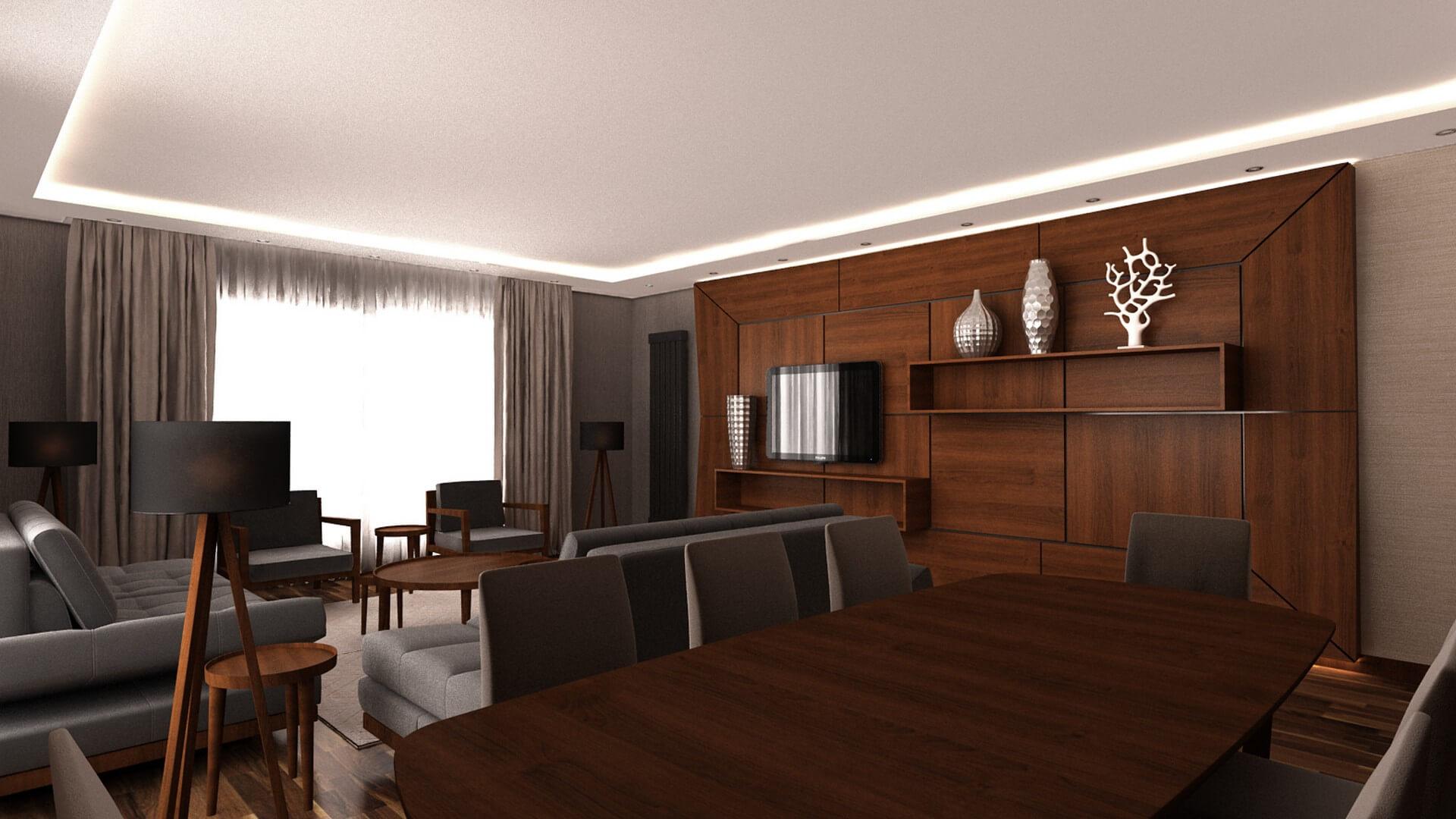 M. Kesik Flat, Residential